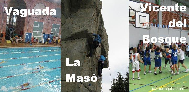 Noticias jornada de puertas abiertas en polideportivos for Piscina municipal vicente del bosque