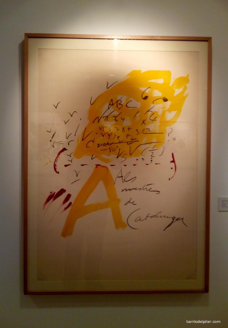 Exposición MGEC. Antonio Tapies