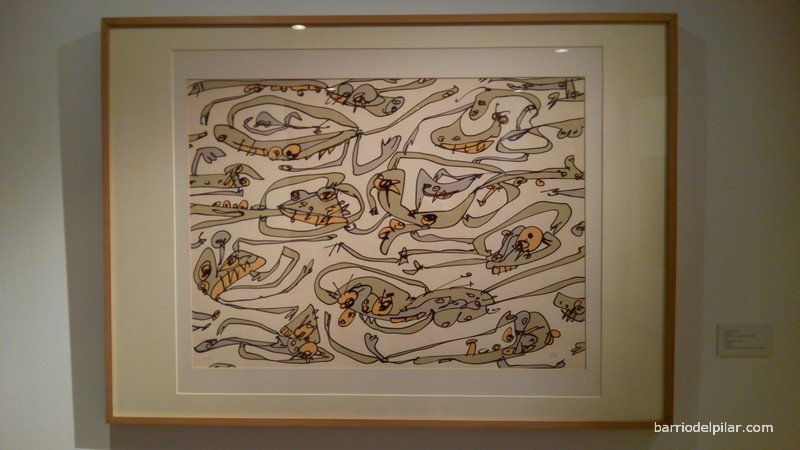 Exposición MGEC. Antonio Saura