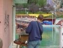 Fiestas Barrio del Pilar 2005 Certamen Pintura Rápida