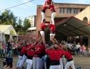 Fiestas Barrio del Pilar 2017. Castellers
