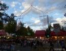 Entrada a la feria de las fiestas del Barrio del Pilar