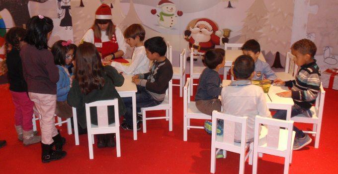 Actividades para niños en La Vaguada por Navidad