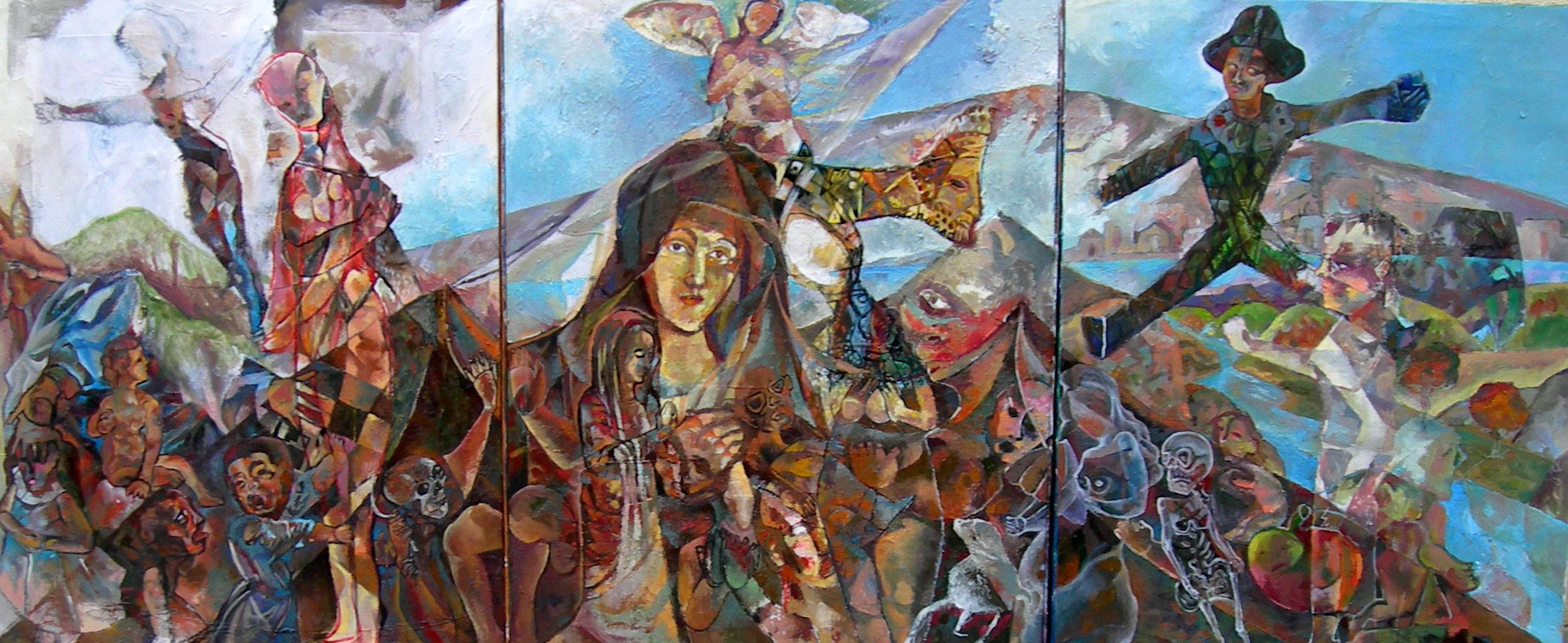 Felipe Alarcon Los hijos de Maria