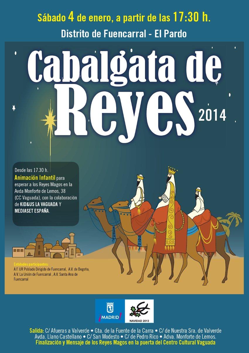 cabalgata_fuencarral-elpardo_2014_cartel