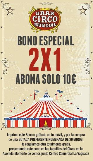 Bono Circo Mundial Madrid 2013-14