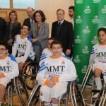 Ana Botella Escuela Baloncesto Deporte Adaptado Polideportivo La Masó