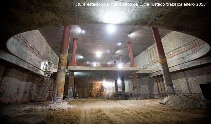 Estación de Metro Paco de Lucía Mirasierra
