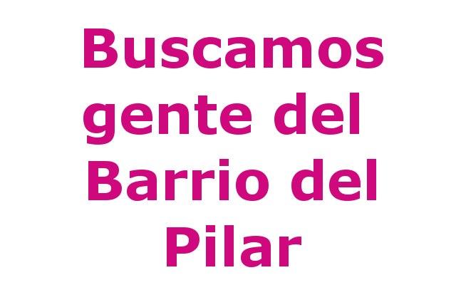 Gente del Barrio del Pilar