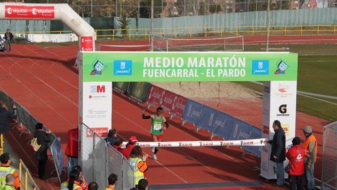 Media Maratón Fuencarral-El Pardo Mircea Sacara