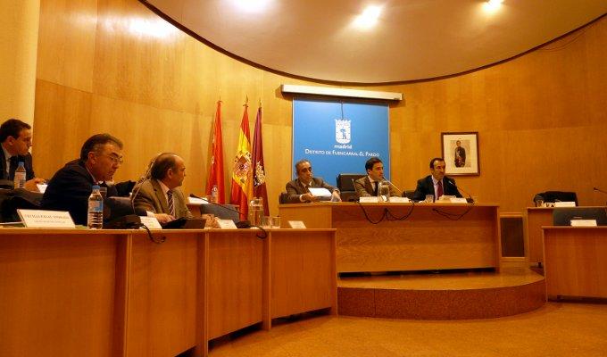 Pleno Distrito Fuencarral-El Pardo Marzo 2014