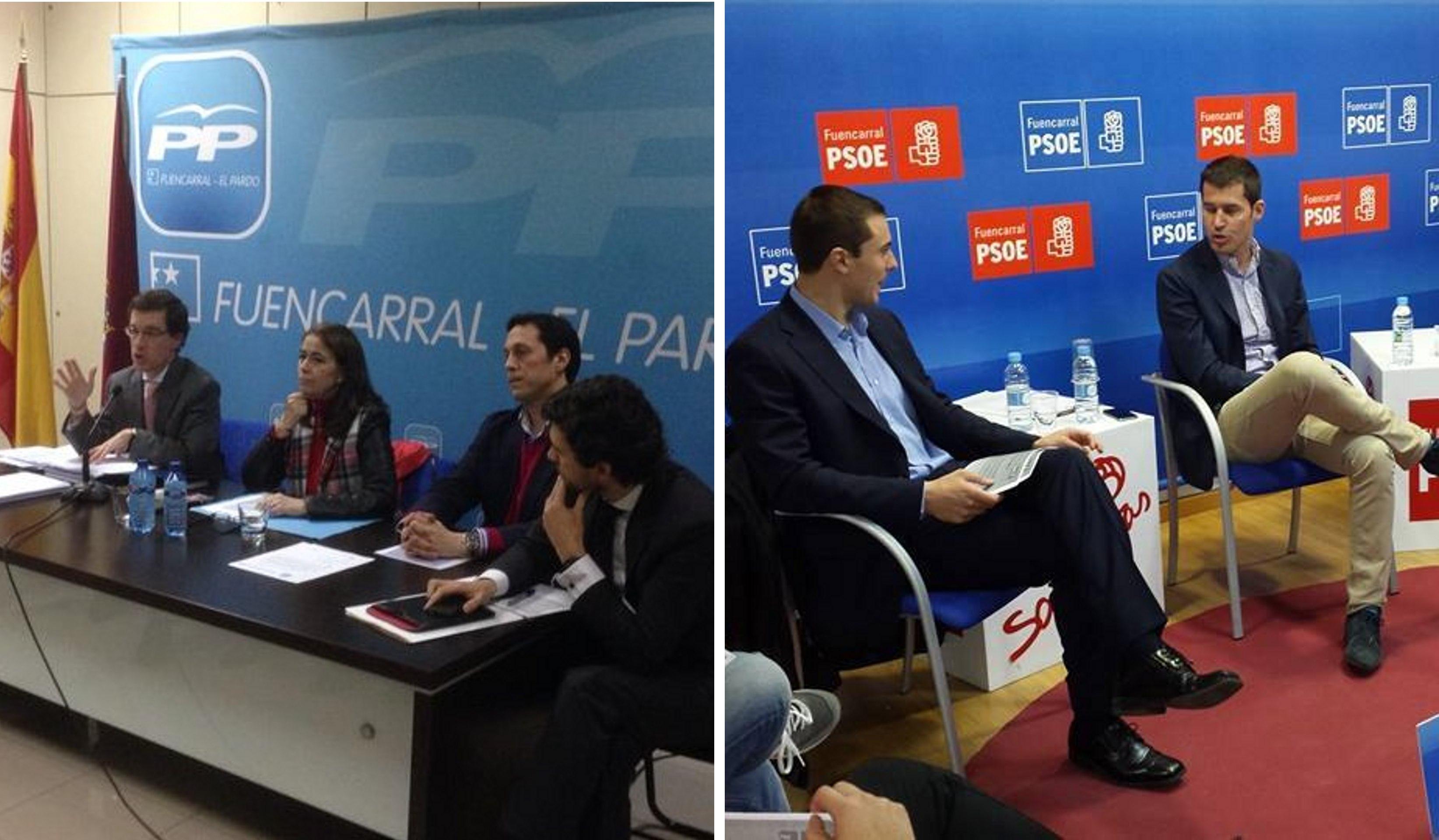 PP PSOE Fuencarral-El Pardo Europeas 2014