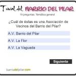 Trivial Barrio del Pilar AV La Flor