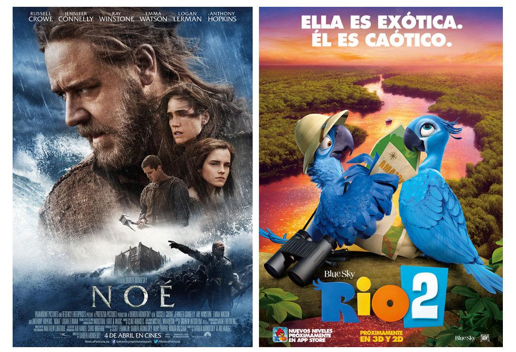 Estrenos Cines La Vaguada 2014-04-04