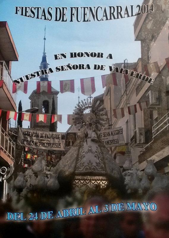 Fiestas Fuencarral 2014 Cartel