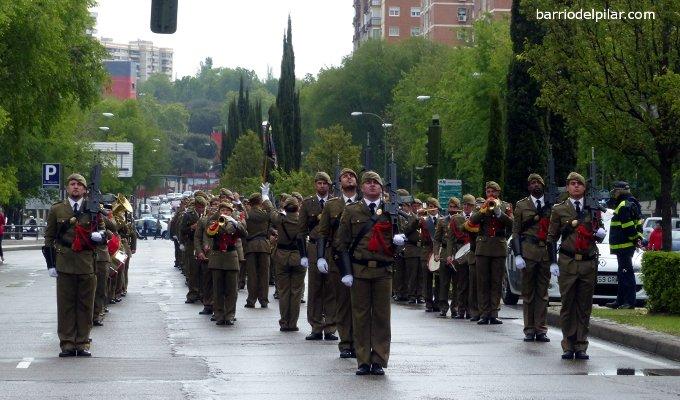 Homenaje a la bandera Barrio del Pilar