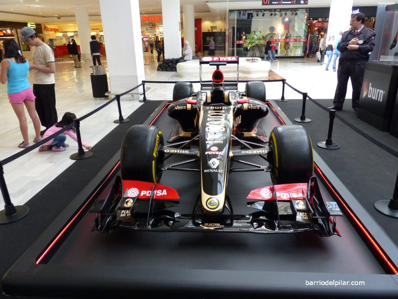 Lotus F1 La Vaguada