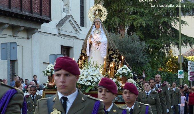 Procesión El Pardo Virgen Dolorosa 2014