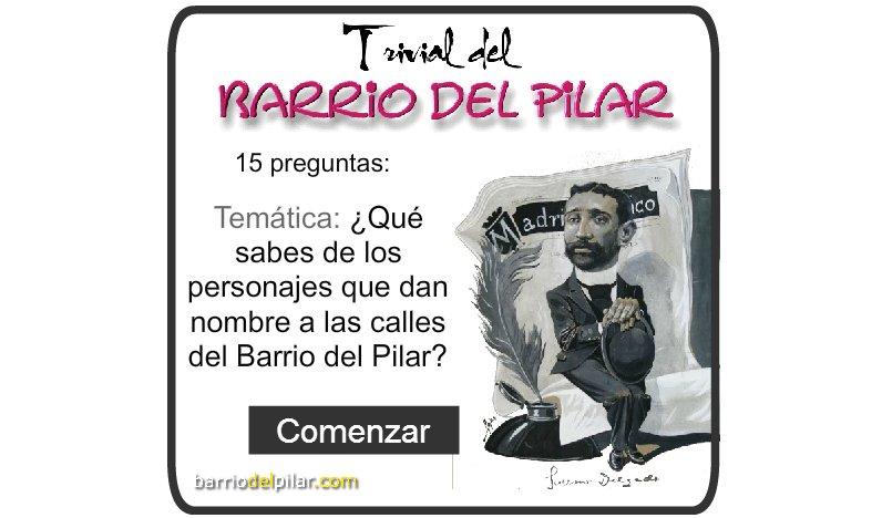 Trivial del Barrio del Pilar. Calles