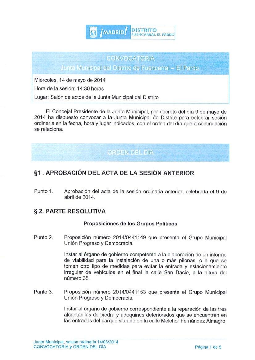 Pleno_Fuencarral-elPardo_14mayo2014_1