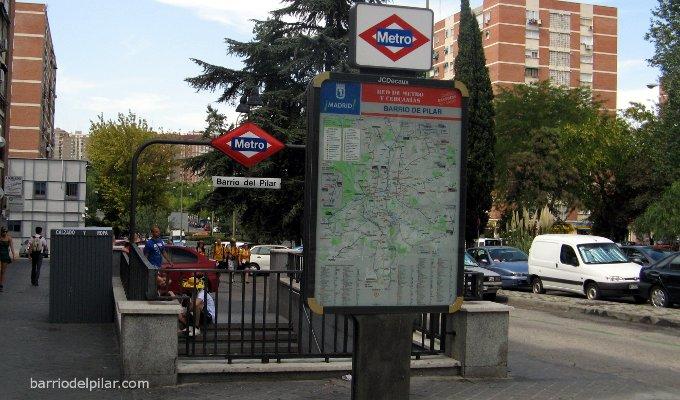 Metro Barrio del Pilar
