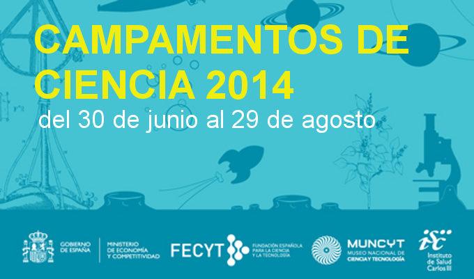 Campamentos Ciencia 2014