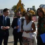 Ana Botella visita puente Tres Olivos