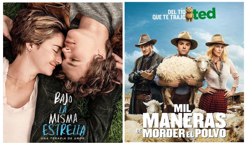 Estrenos cines La Vaguada 4 de julio de 2014