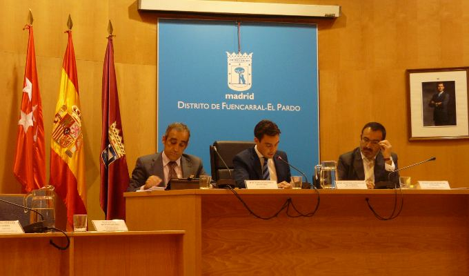 Pleno del Distrito de Fuencarral-El Pardo Julio 2014