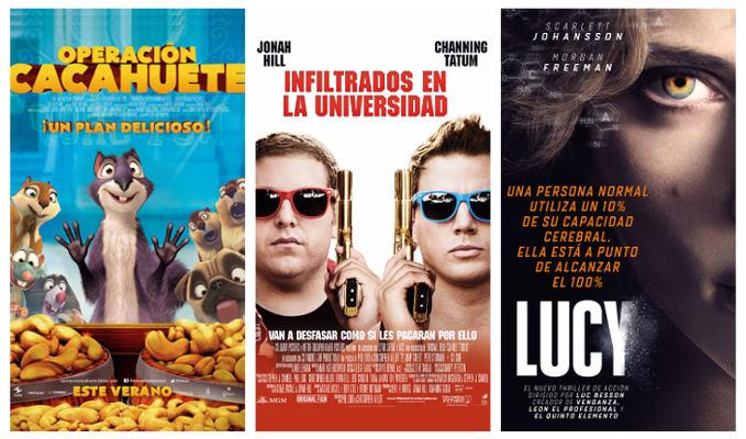 Estrenos Cines La Vaguada 22 de agosto de 2014