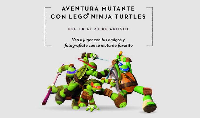 Tortugas NInja. La Vaguada