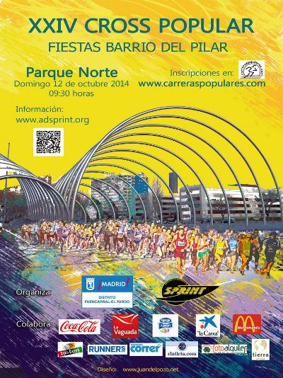 XXIV Cross de las Fiestas del Barrio del PIlar 2014