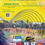 Cartel del XXIV Cross Popular de las Fiestas del Barrio del Pilar