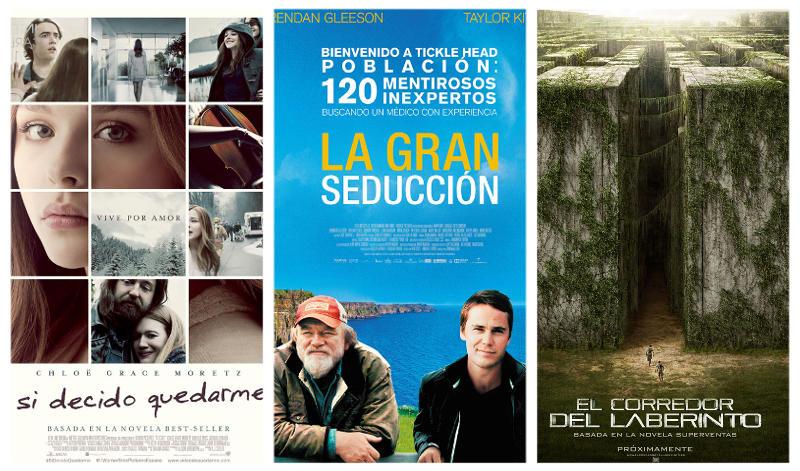 Estrenos cines La Vaguada 19 de septiembre de 2014
