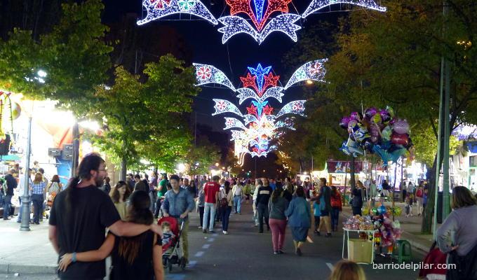 Feria de las Fiestas del Barrio del Pilar