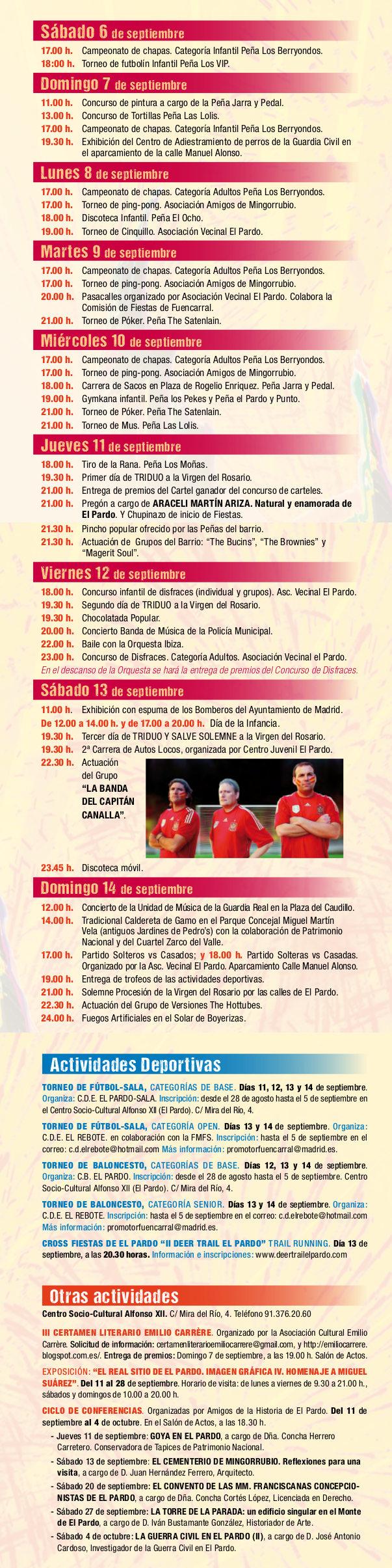 Fiestas de El Pardo 2014