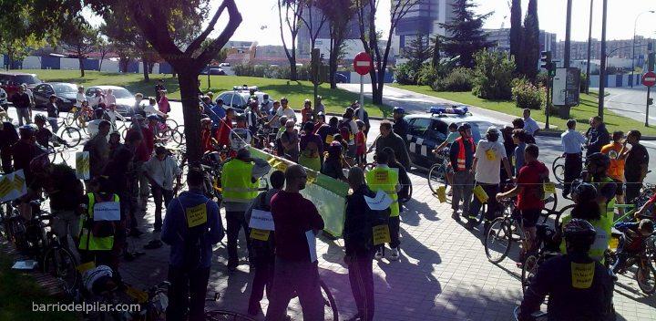 Marcha en Bici Barrio del Pilar