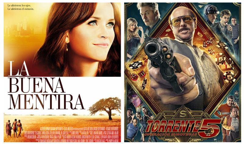 Estrenos 3 de octubre de 2014 en los cines La Vaguada