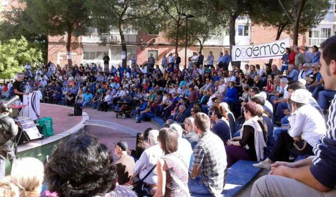 Presentación del Círculo PODEMOS de Fuencarral-El Pardo