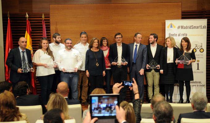 Ana Botella en los premios Madrid SmartLab