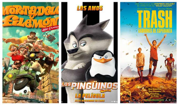 Estrenos de la semana en los Cines La Vaguada el 28 de noviembre de 2014