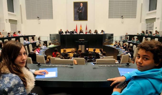 Pleno Infantil del Ayuntamiento de Madrid