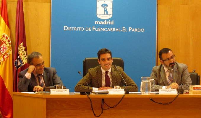 Pleno del distrito de Fuencarral-El Pardo del mes de noviembre de 2014