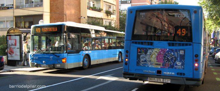 Autobús 49 EMT Madrid