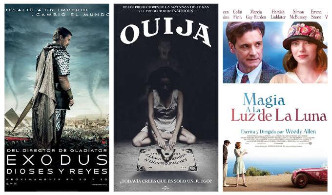 Estrenos de la Semana de los Cines La Vaguada el 5 de diciembre de 2014