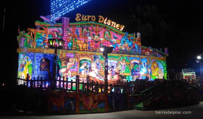 Atracción mecánica Trineo de Santa Claus. Navidad 2014-2015
