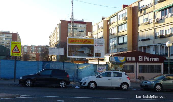 Solar del Bingo del Barrio del Pilar