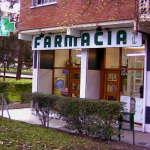 Farmacia en la avenida de Monforte de Lemos