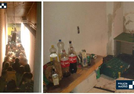 Fiesta ilegal en Fuencarral-El Pardo