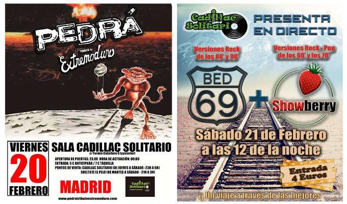 Conciertos en el Barrio del Pilar 20 y 21 de febrero de 2015